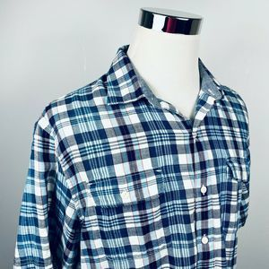 Tommy Bahama Large Flannel Board Shirt